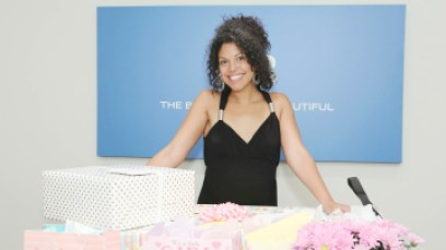 """""""The Bold and the Beautiful"""" Set Baby Shower for Karla Mosley"""