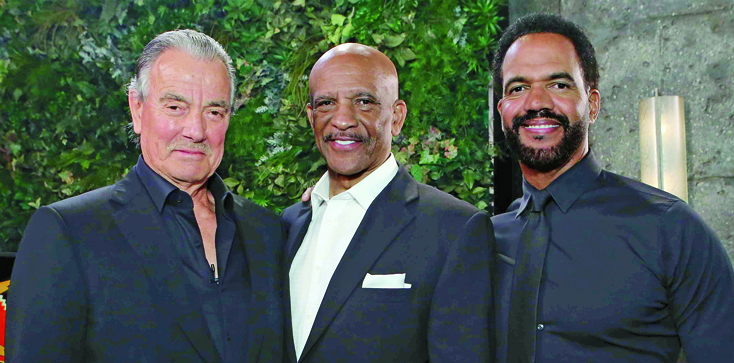 """The Young and the Restless"" Set Guests staring Drew Pearson"