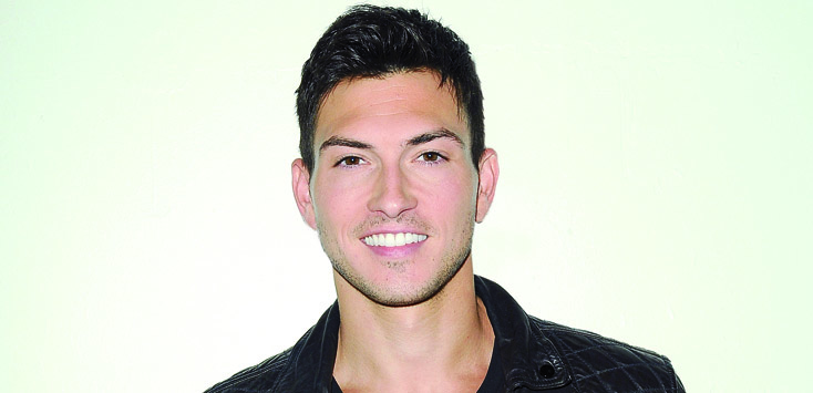 """Days of our Lives"" Set with Robert Scott Wilson"