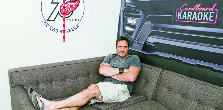 """""""The Bold and the Beautiful"""" Set Thorsten Kaye Dresssing Room"""