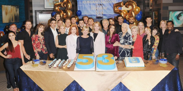 """Days of our Lives"" Set Celebrating 53rd Anniversary"