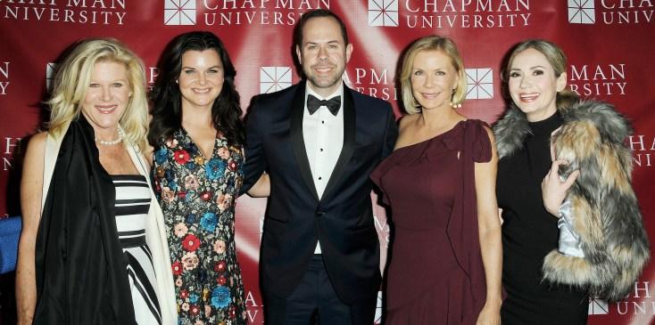 Casey Kasprzyk Receives Chapman Universitys Alumni Achievement Award