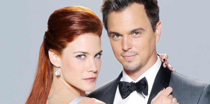 """The Bold and the Beautiful"" Set Wedding"