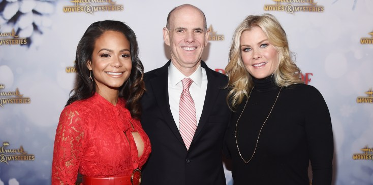 "Hallmark Channel Hosts ""Once Upon A Christmas Miracle"" Screening And Holiday Party"