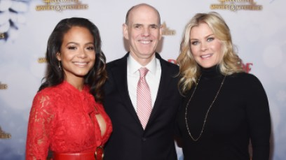 """Hallmark Channel Hosts """"Once Upon A Christmas Miracle"""" Screening And Holiday Party"""