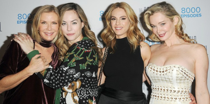 The Bold & the Beautiful's Annual Christmas Party