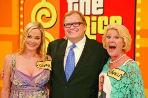 """The Bold and the Beautiful"" Taping a Segment On ""The Price is Right"" Set with Drew Carey"