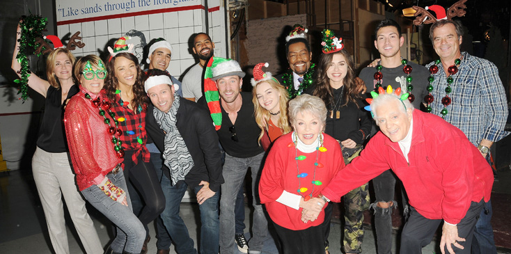 """Days of our Lives"" Set Holiday App Part"