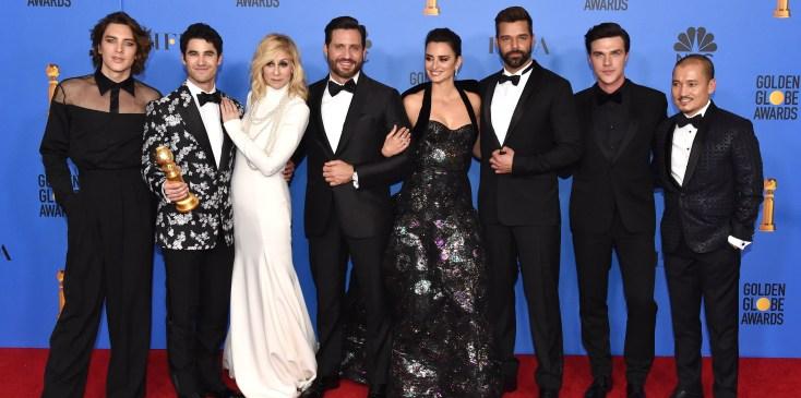 76th Annual Golden Globe Awards   Press Room
