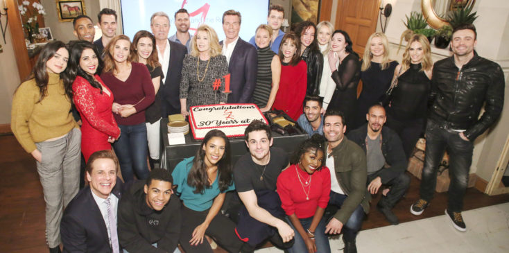 """""""The Young and the Restless"""" Set Celebrating 30 Years at Number One"""