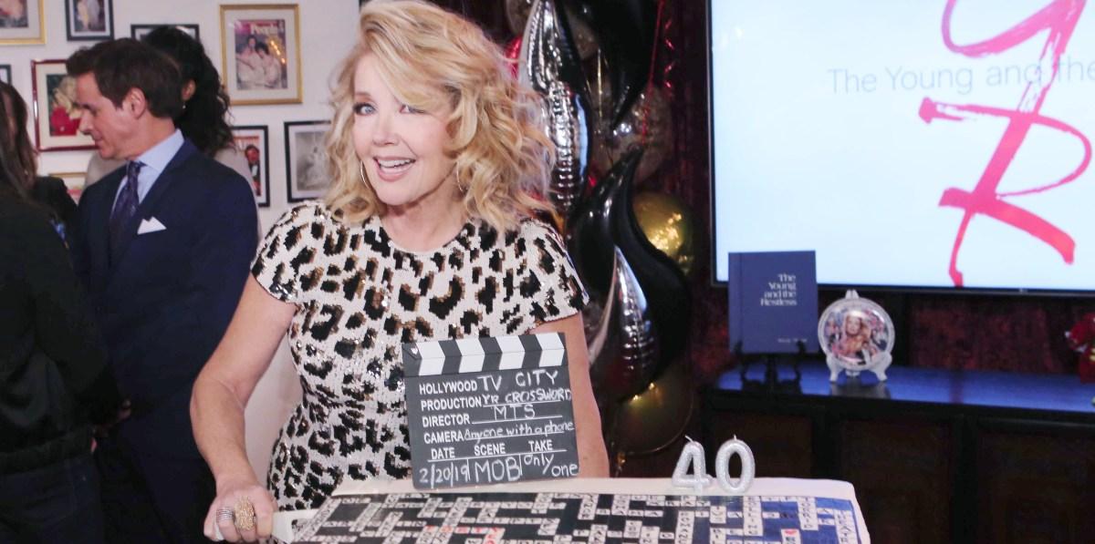 Melody Thomas Scott Celebrates 40 Years As Yrs Nikki Soap Opera