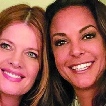 Michelle and Eva