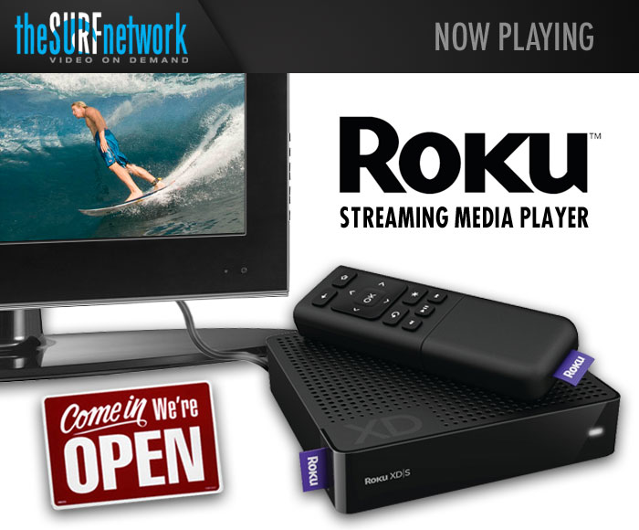 theSURFnetwork.com Launches Channel on Roku - SURFER Magazine