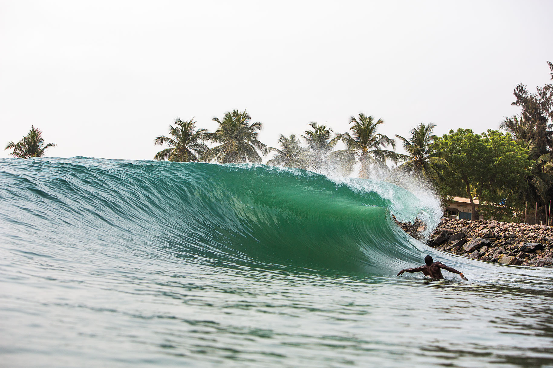 Tarkwa Bay Surfers Displaced After Nigerian Navy Demolished Their Homes -  SURFER Magazine